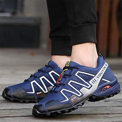 Hiking Mesh Bleu82 Chaussures Chaussures Bleu82 Mesh Resistant Breathable Montantes 128b06