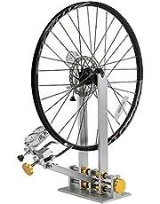 """Wiel Tuning Reparatie Tool Kit, Professionele Fiets/Fietsband Truing Stand, Platform Fiets Aluminium Mechanic Reparatie Rack, Geschikt voor 10 """"- 29"""" Wielen, Zilver-10 ~ 29"""""""