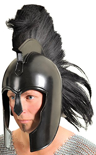 UHC Men's Ancient Greek Achilles Trojan Armor Helmet