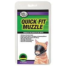 Quick Fit Cat Muzzle, Medium by Four Paws [Pet Supplies]