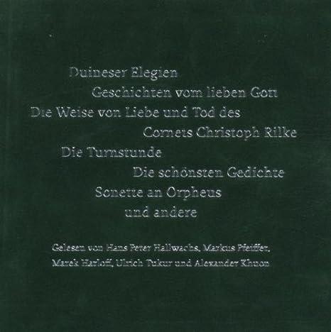 Various Artists Die Rainer Maria Rilke Box Amazoncom Music