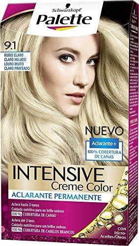 Palette Intense - Tono 9.1 Rubio Claro Claro Helado - Coloración ...