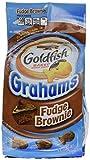 Pepperidge Farm, Graham Goldfish, Fudge Brownie, 6.6oz Bag (Pack of 4)