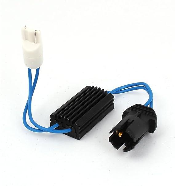 Winomo Auto Canbus Fehler Frei Last Widerstand Decoder Kabel Für T10 501 W5w 194 152 147 Led Lampen Baumarkt