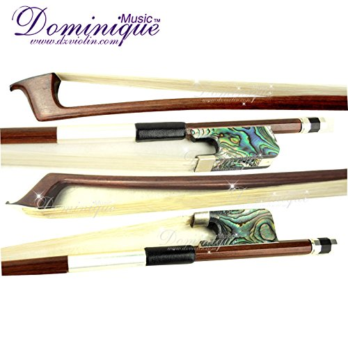 D Z Strad Cello Bow with Abalone Shell Frog Full Size 4/4 by D Z Strad