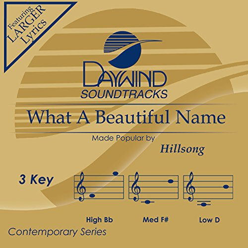 What A Beautiful Name [Accompaniment/Performance Track] - Name Accompaniment Cd