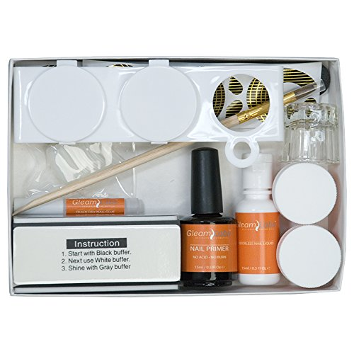 (Odorless Acrylic Sculptured Nail Kit)