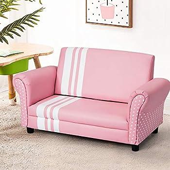 Amazon.com: Costzon - Sofá para niños, tapizado, con ...