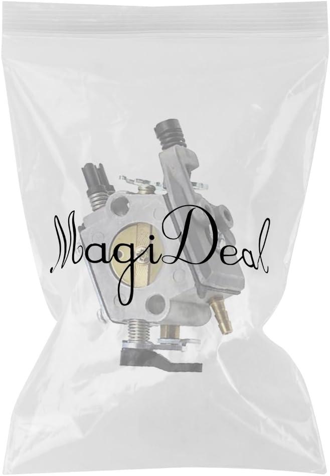 MagiDeal Kit de Carburateur Tron/çonneuse Pour Husqvarna 51 55 503281504 Walbro WT-170-1