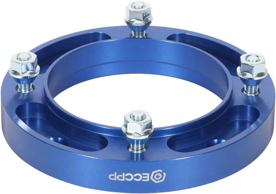 ECCPP 4 lug 2x Wheel Spacers Adapters 1 4x156mm to 4x156mm 131mm CB fits for Polaris Outlaw 50 90 450 500 525 with 3//8x24 Studs