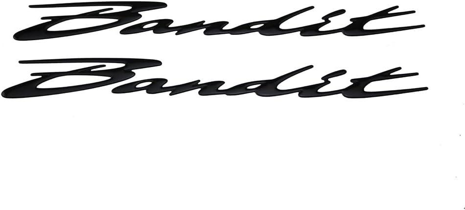 Black PRO-KODASKIN Motorcycle 3D Raise Emblem Sticker Decal for Suzuki GSF650 1200 1250 Bandits