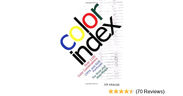 Color Index Over 1100 Color Combinations Cmyk And Rgb