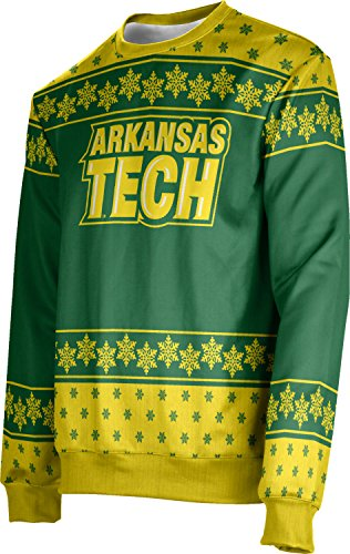 ProSphere Adult Arkansas Tech University Ugly Holiday Snowflake Sweater