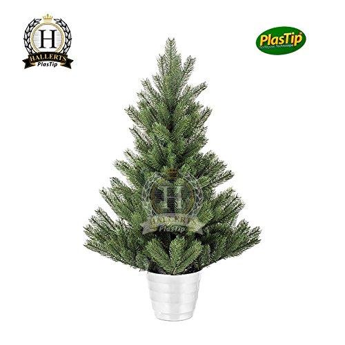 Künstlicher Weihnachtsbaum Spritzguss Nordmanntanne ca. 90 cm TÜV geprüft und schwer entflammbar Premiumtanne Kunsttanne