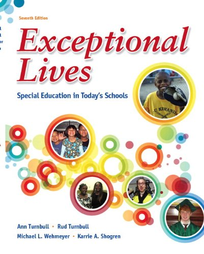 Exceptional Lives: Special Education in Today's Schools Plus MyEducationLab with Pearson eText -- Access Card Package (7th Edition)