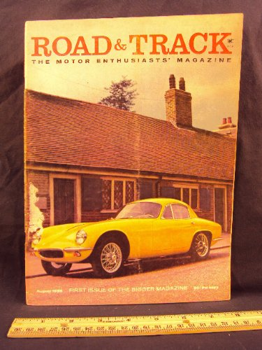 (1958 58 August ROAD and TRACK Magazine, Volume 9 Number # 12 (Features: Road Test On Austin Healey Sprite, Borgward TS Isabella Coupe, & Lincoln Continental Mark)