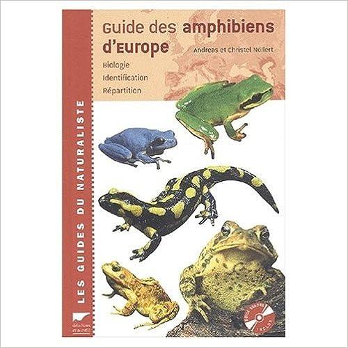 En ligne Guide des amphibiens d'Europe pdf