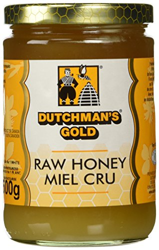 Dutchman's Gold Raw Honey 1.1 lbs - Unfiltered - Non-pasteurized