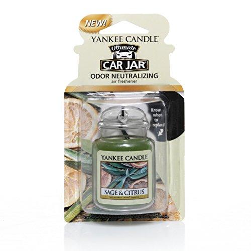 Yankee Car Jar Ultimate, Sage & Citrus