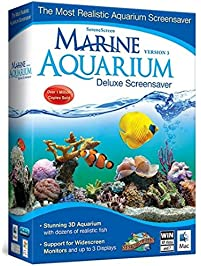 Marine Aquarium Deluxe 3.0 Screensaver, Version 3