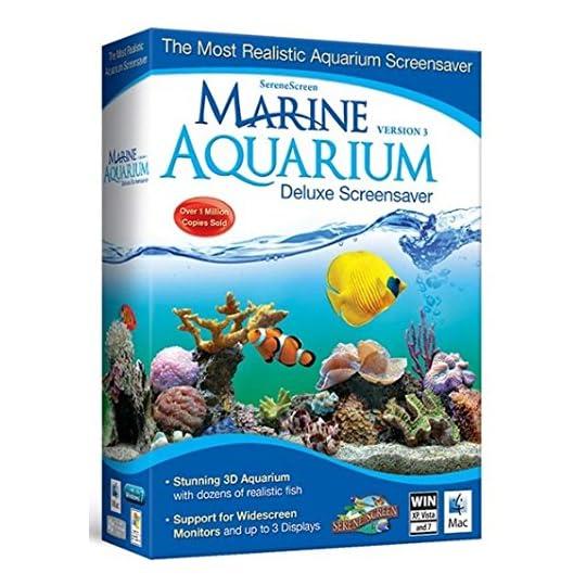 Marine Aquarium Deluxe 3.0 Screensaver, Version 3