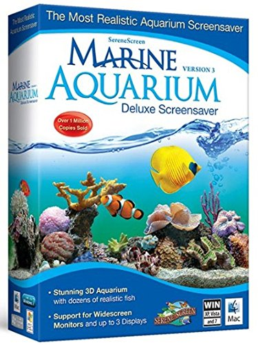 Marine Aquarium Deluxe 3 0 Screensaver  Version 3