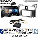 Volunteer Audio Sony XAV-W651BTN Double Din Radio Stereo Install Kit with Bluetooth, Pandora, iPhone Control, USB, AUX, Navigation Fits 2010-2013 Toyota 4Runner with Amplified System