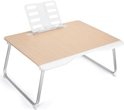 cm Altezza Regolabile 22-30 HOMFA Tavolino Computer Tavolo PC in Legno Porta Notebook Pieghevole Portabile di Bamb/ù Tavolino DAppoggio Inclinabile 55 /× 35 /×
