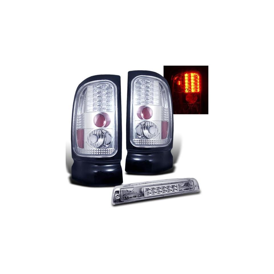 Eautolights 94 01 Dodge Ram LED Tail Lights + LED Brake Light Brand New Left + Right Set