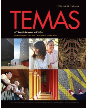 Temas Student Edition with Supersite Code - 2014 - CODE INCLUDED