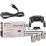 Drone Fans 5 in 1 Parallel Fast Battery Charger Multi Charging Hub with OLED Display for Mavic Pro and Mavic Pro Platinum