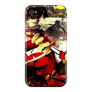 Excellent Design Abstract Gloves Katana Long Hair Cases Covers For Iphone 6