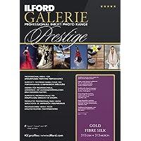 ILFORD 2004001 GALERIE Prestige Gold Fibre Silk - 13 x 19 Inches, 25 Sheets