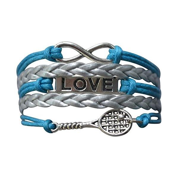 צמיד קמע טניס עם כיתוב LOVE במגוון צבעים לבנות - המתנה מושלמת!!!