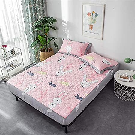BBQBQ - Protector de colchón Impermeable y Transpirable, 100% Rizo ...
