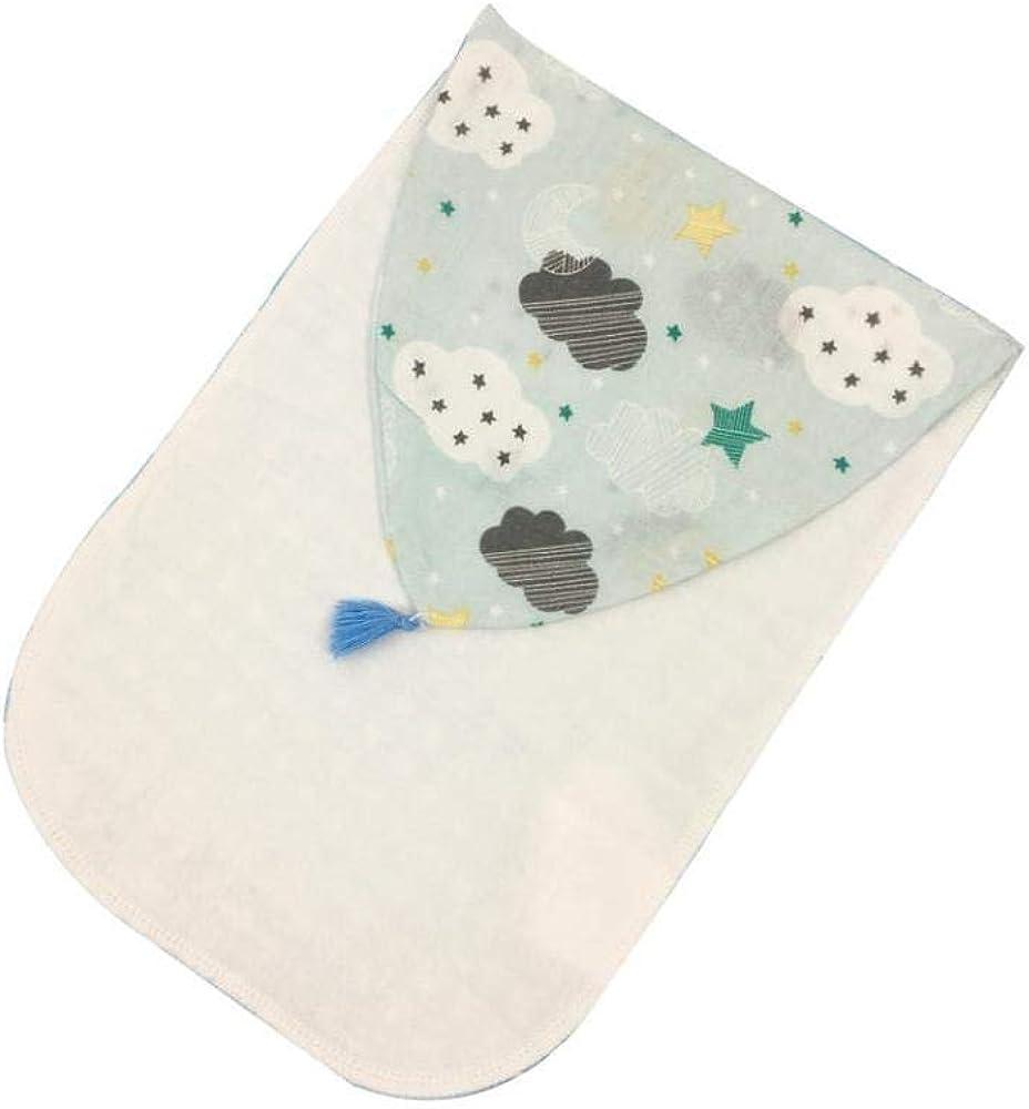 tJexePYK Diseño De Dibujos Animados Bebé Sudor Absorbente Toalla De Algodón Natural Posterior del Bebé De La Toalla del Sudor para Cualquier Ocasión Sudorosa Nubes Pack De 2: Amazon.es: Ropa y accesorios