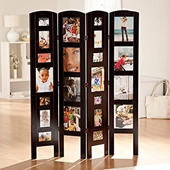 Amazoncom Memories Photo Frame Room Divider 4 Panel Industrial