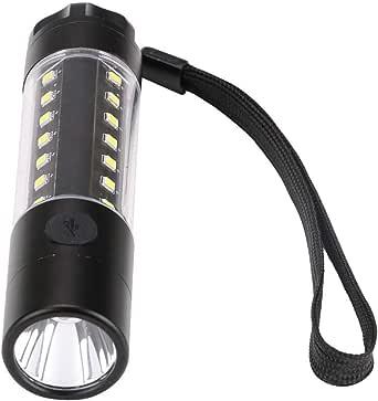 T6LED Outdoor Riding Flashlight Strong Long-Range Flashlight Camping Portable Multifunctional Lighting