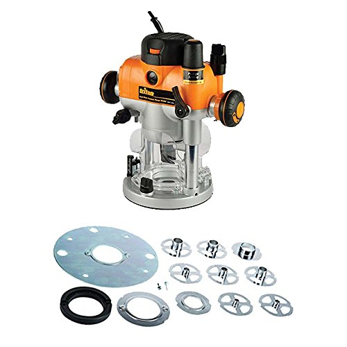 Plunge Router Reviews (Triton TRA001 2400W3-1/4hp Precision Plunge Router and TGA250 Template Guide Kit)