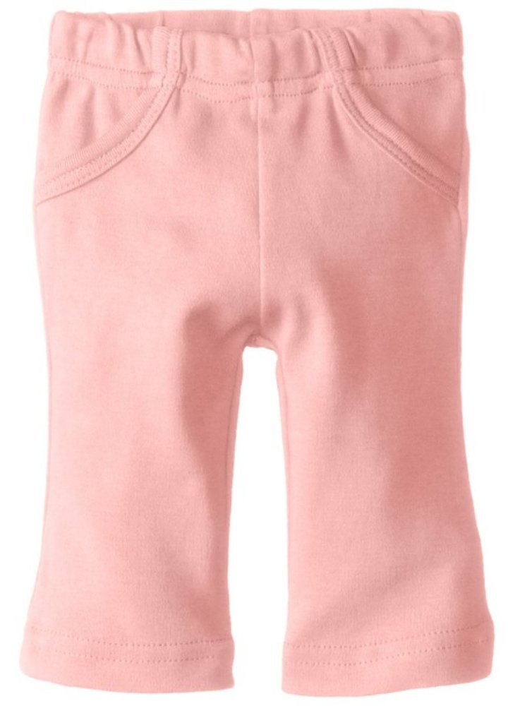 L'ovedbaby Unisex-Baby Newborn Organic Lounge Pants, Coral, 9-12 Months