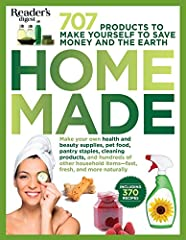 Make your own pantry staples, cleaning products, pet food, health and beauty supplies, and hundreds of other household items—fast, fresh, and more naturally.Here are low-cost, all-natural replacement recipes for more than 700 name-brand products that...