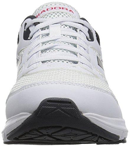 Diadora Herren Form 6 Laufschuh Weiß grau