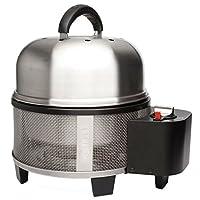 CO700 Cobb Gasgrill silber Stahl klein 1-flammig Camping Balkon Picknick ✔ Deckel ✔ rund ✔ tragbar ✔ Grillen mit Gas ✔ für den Tisch