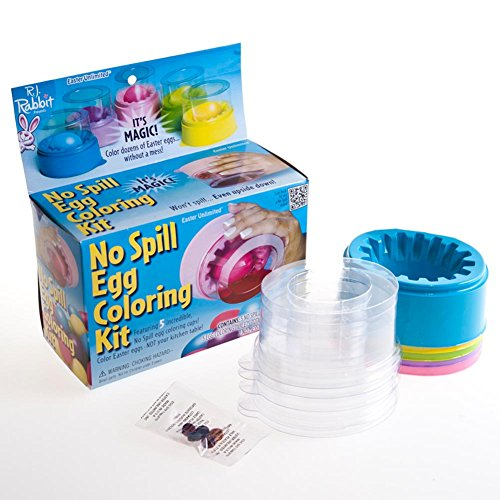 No Spill Egg Coloring Kit