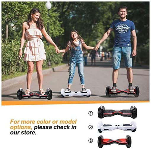 BEBK Hoverboard 6,5 Pouces Overboard Enfant Adulte,Hover Board Smart Self Balance Scooter Electrique Auto-Équilibrage Skateboard 2x250W Moteurs,LED Lights