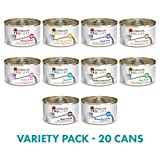 Weruva TruLuxe Grain-Free Wet Cat Food Variety Pack Box - All 10 Flavors - 3 Ounces Each (20 Total Cans - 2 of Each Flavor) Larger Image