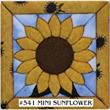 Quilt Magic 6-Inch by 6-Inch Kit, Sunflower