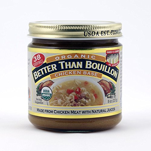 Better Than Bouillon Organic Chicken , Beef and Vegetable Base 8 fl oz, 3 Vareity Pack -