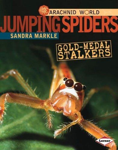 Jumping Spiders: Gold-Medal Stalkers (Arachnid World) (Arachnid World (Hardcover)) by Sandra Markle (2012-02-01)