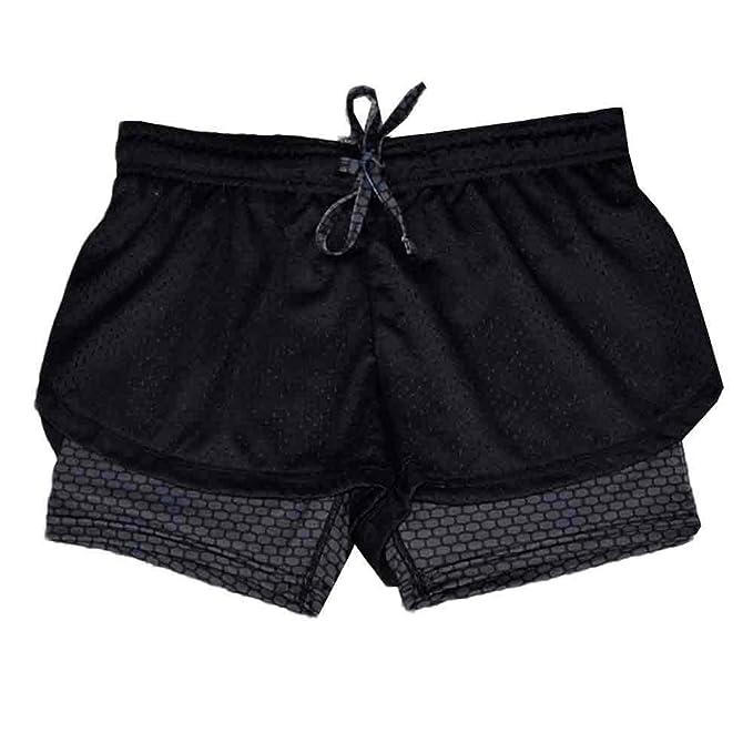 adfc8d3c1f89d Amazon.com  Womens Sports Gym Pants No Boundaries Leggings Yoga Workout  Work Out Waistband Skinny Yoga Shorts  Clothing